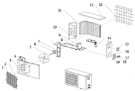outdoor unit diagram and parts list for mitsubishi airconditioner wiring data apktodownload