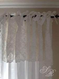 Shabby Chic Gardinen : van deurs gardinenschal agnete mit haekelspitze 160x240cm shabby chic gardine n hen ~ Eleganceandgraceweddings.com Haus und Dekorationen