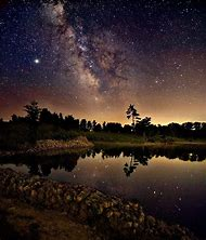 Milky Way Seen From Earth