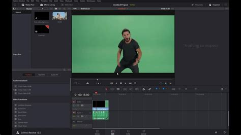 green screen  davinci resolve youtube