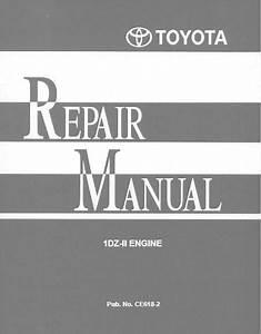 Toyota Repair Manual 1dz
