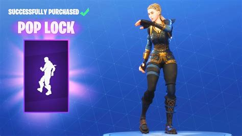 pop lock dance emote fortnite item shop update june