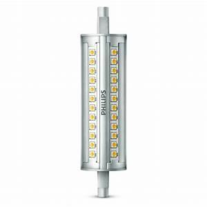 Ampoule Crayon Led : ampoule crayon led philips r7s 18w 100w 1000 lm dimmable ~ Nature-et-papiers.com Idées de Décoration