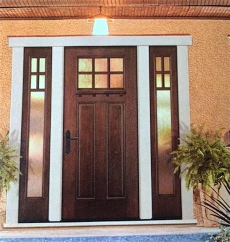 cheap front doors  sidelights isocom