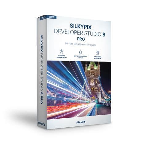 silkypix developer studio  pro franzis wwwfranzisde