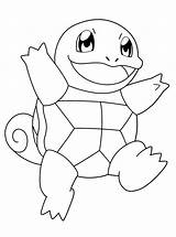 Squirtle Coloring Pages sketch template