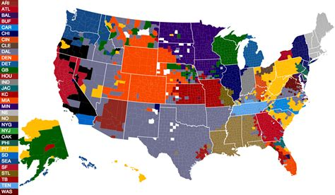 nfl mega fan quiz here 39 s facebook 39 s 2014 nfl fandom map