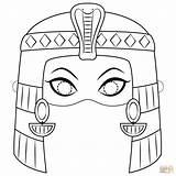Cleopatra Mask Coloring Pages Egypt Egyptian Supercoloring Arte Egiziana Para Da Dibujo Di Printable Colorear Colorare Egipto Template Masks Death sketch template