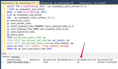 How To Measure Real World Sql Query Performance For Aspnet