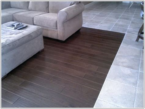 Wood Floor To Tile Transition Ideas Tiles  Home Design Ideas