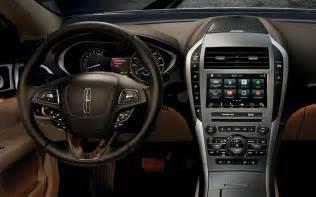 2017 Lincoln MKZ Black Interior