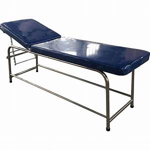 China Manual Adjustable Gynecology Medical Examination Bed