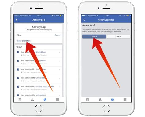 delete iphone search history how to clear search history on iphone and