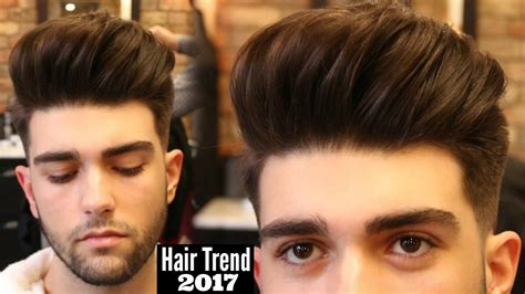 Mens Haircut & Hairstyle Trend 2018