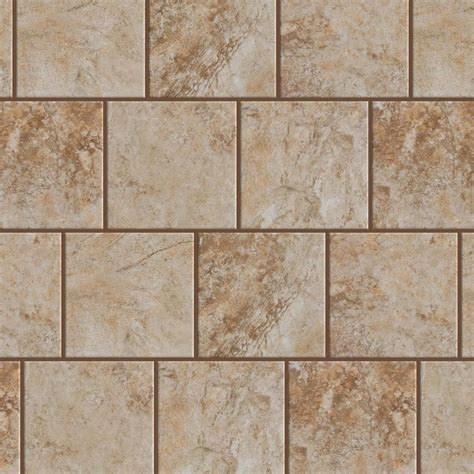 style selections tile shop style selections mesa beige porcelain floor and wall