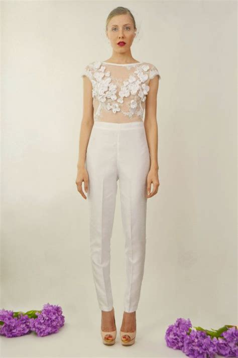 jumpsuit hochzeit braut two bridal jumpsuit in 2019 standesamt