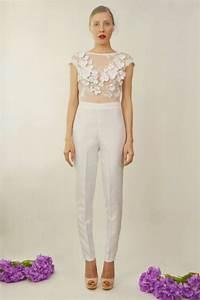Jumpsuit Mit Schleppe : giselle two piece bridal jumpsuit in 2019 standesamt pinterest ~ Frokenaadalensverden.com Haus und Dekorationen