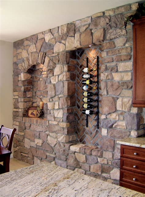 italian villa stone wine wall coronado stone veneer
