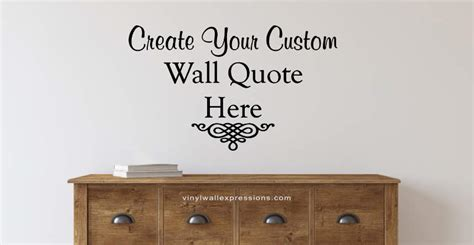 custom wall quotes  vinyl lettering decals vinyl wall expressions