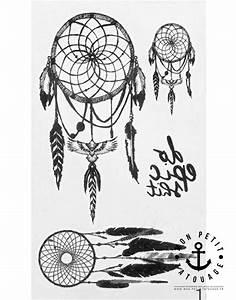 Tatouage Attrape Reve : petits tatouages attrape r ves dreamcatcher mon petit ~ Carolinahurricanesstore.com Idées de Décoration