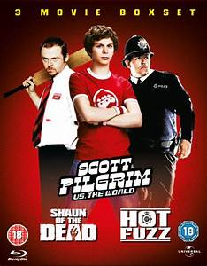 Scott Pilgrim / Hot Fuzz / Shaun of the Dead Blu-ray