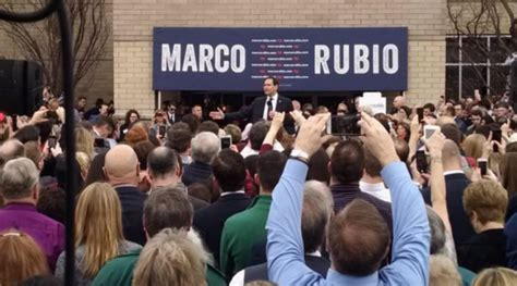 Marco Rubio Rally Draws Over 4,000 Supporters