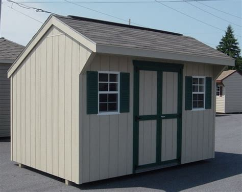 heartland storage shed kits heartland 6 x 6 x 8 wood storage shed rustic woodworking