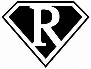 Superman Logo Outline - Cliparts.co