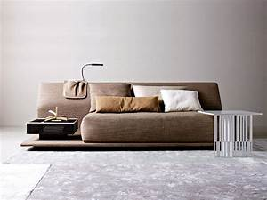 Contemporary comfortable sofa bed by molteni digsdigs for Comfortable contemporary sectional sofa