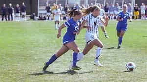 Women's soccer team ties Hartwick College in double ...