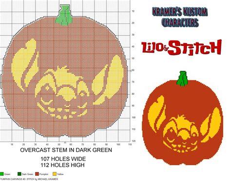 stitch pumpkin template pumpkin carvings 2 stitch plastic canvas pattern by michael kramer plastic canvas patterns i