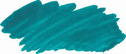 Paint Brush Stroke Turquoise Transparent Onlygfx Px