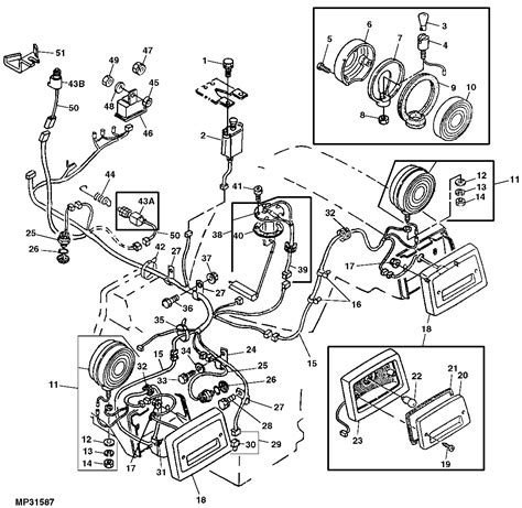 Ez Wiring 21 Circuit Harnes Ply by Deere 2940 Wiring Diagram Free Picture Auto