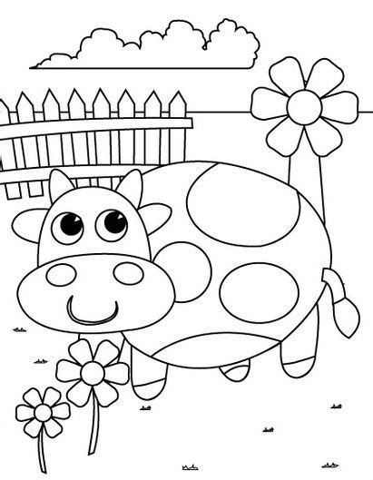 preschool coloring pages cow miscellaneous coloring 452 | 5b27637f7c30b02d1968f0cc31206f50 farm coloring pages preschool coloring pages