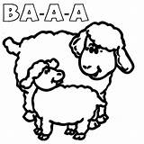 Sheep Coloring Sound Pages Suzy Peppa Pig Sheet Which Template sketch template