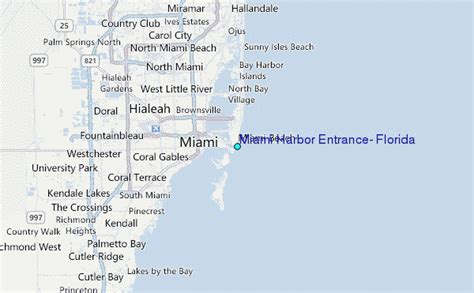 miami harbor entrance florida tide station location guide