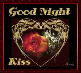good night kiss