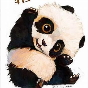 Pics For > Baby Pandas Drawings | pandas | Pinterest ...