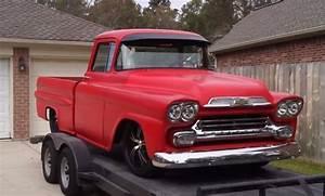 1959 Chevy Apache Swb Fleetside Truck Bagged V8 Auto 22
