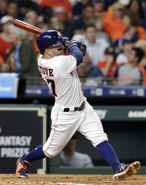 mlb roundup jose altuve powers astros    sweep