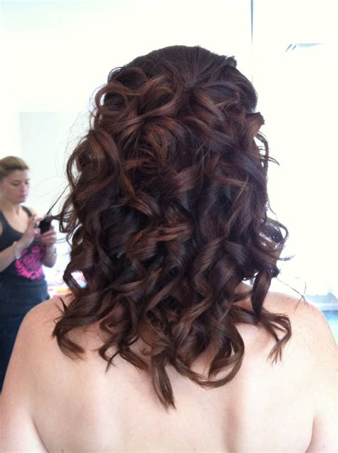 Ghd Curls Hairstyles by Ghd Curls With Pieces Pinned In