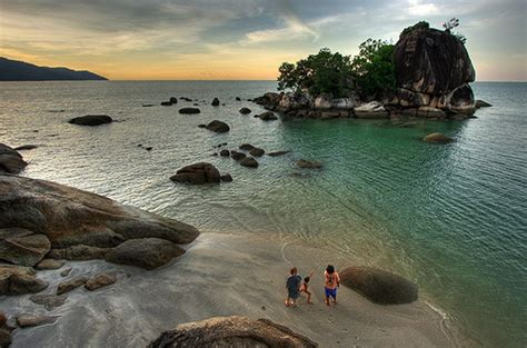 teluk bahang  pulau penang wisata malaysia