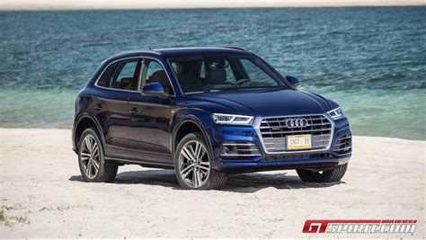 Blue Audi Q5 by 2017 Audi Q5 The Second Generation Review Gtspirit