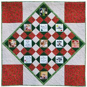 a christmas story quilt tutorial weallsew With story quilt template