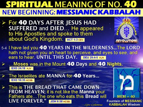 Christian Spiritual Number Meanings
