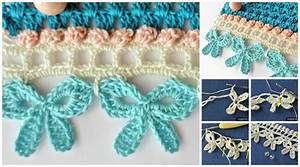 Crochet Bow Edging
