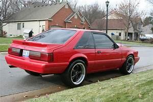 "1990 MUSTANG LX, 347 W/ 5 SP, VORTEC BLW, 509HP AT TIRE, 18"" WHEEL, 3:73, SHARP!"