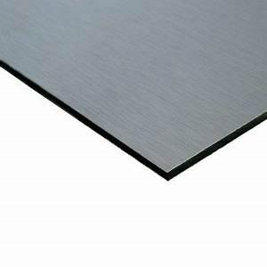 Plaque Aluminium 5mm : panneau dibond alu 250 x 125 cm p 3 mm castorama ~ Melissatoandfro.com Idées de Décoration