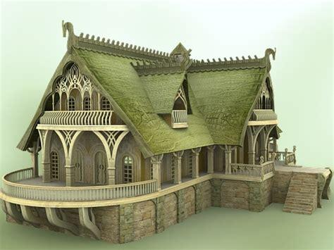 Elven Village Inn 1.0 (e1v102-3ds) 3d Models Chikako