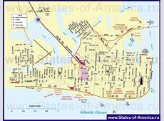 Карты АтлантикСити Подробная карта города АтлантикСити